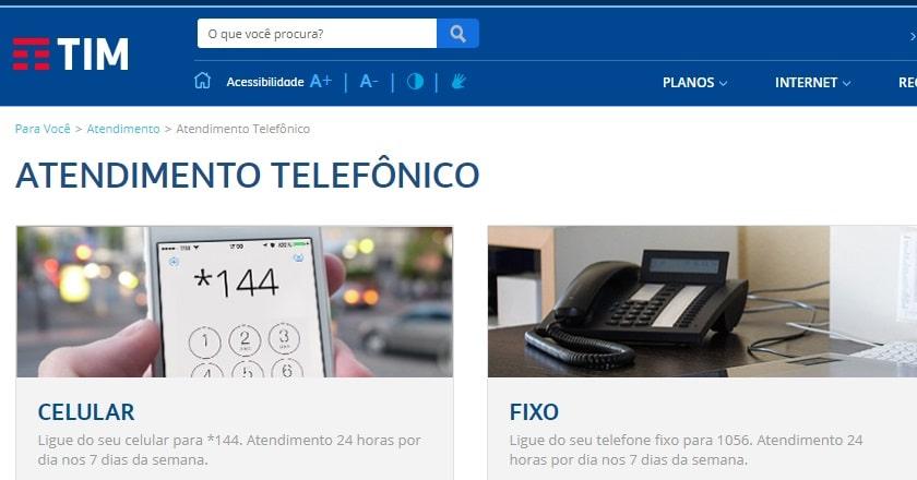 2e432cb59e680 ▷ Telefone da Tim para Falar com Atendente