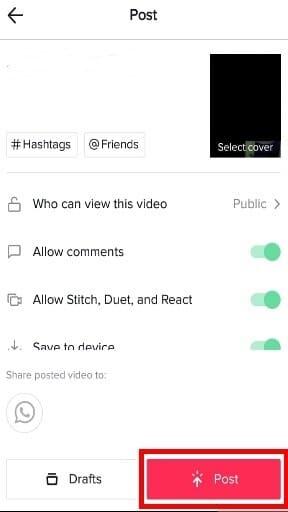 Gravar Vídeo sem Segurar o Botão no TikTok