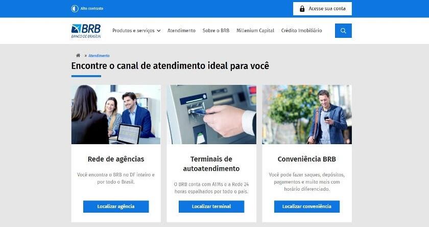telefone brb banco de brasilia