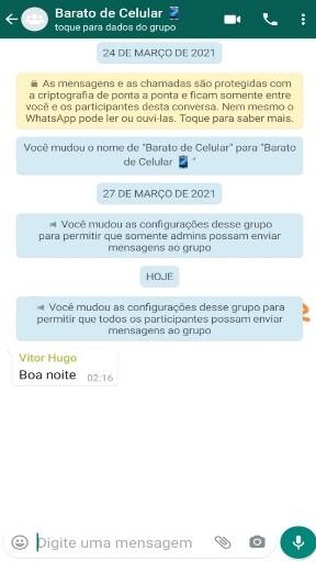 Como Responder Mensagem de Grupo em chat privado no WhatsApp